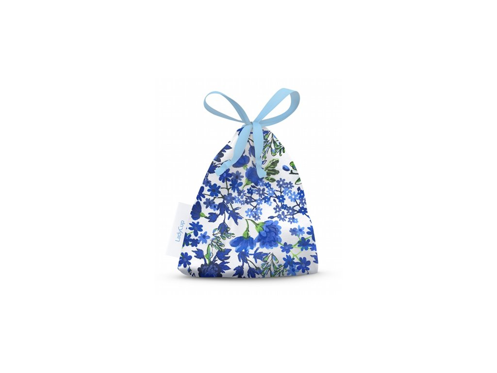 Bawełniane etui Niebieskie kwiaty