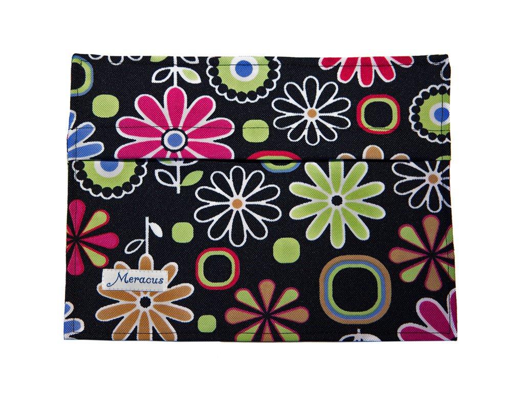 Torebka na podpaski Kwiaty kolorowe