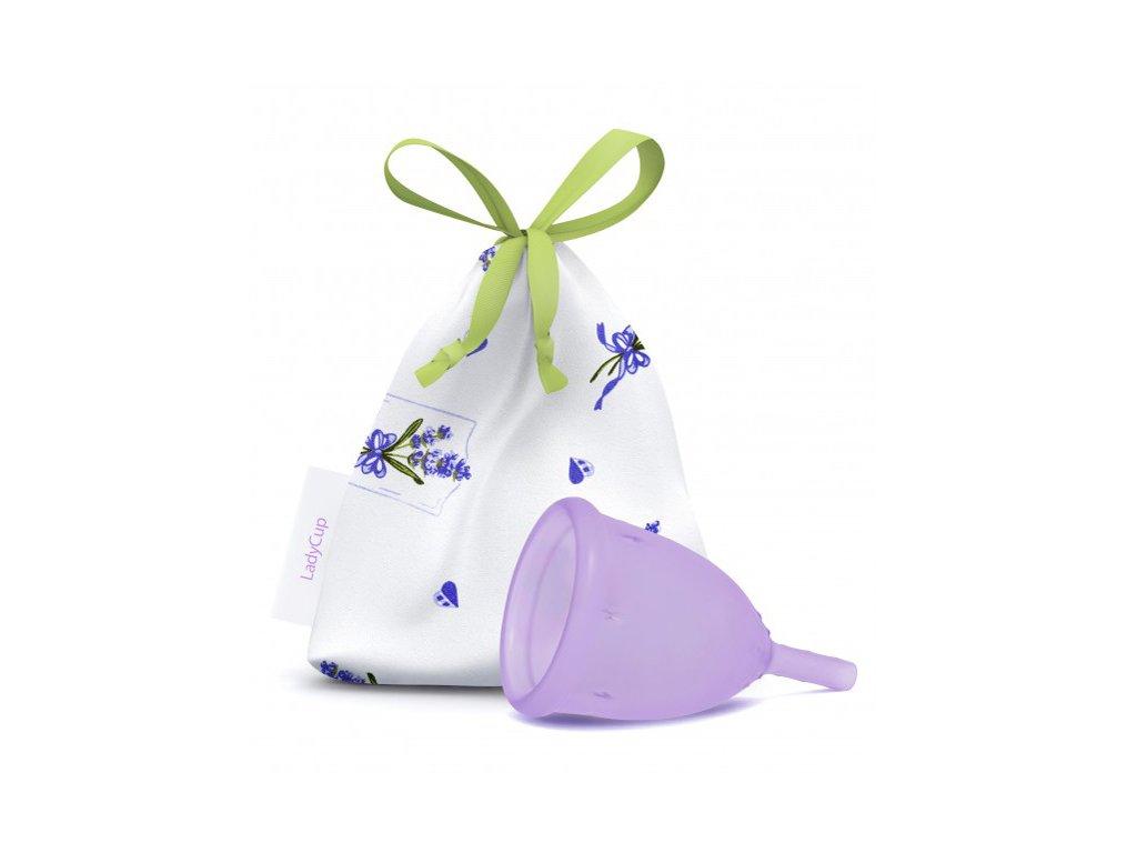 Kubeczek menstruacyjny LadyCup L Muśnięcie lawendy