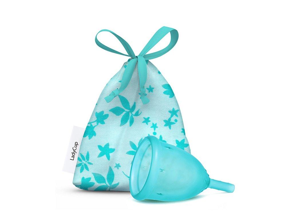 Kubeczek menstruacyjny LadyCup L Księżycowy niebieski