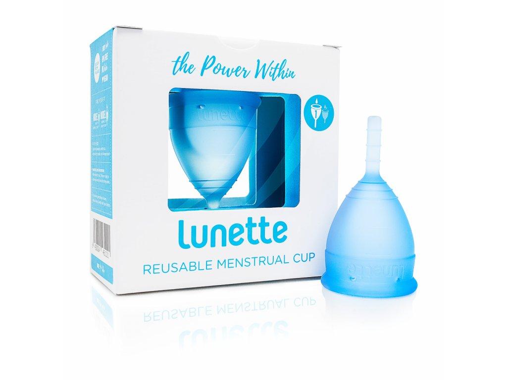 Kubeczek menstruacyjny Lunette model 1 Blue
