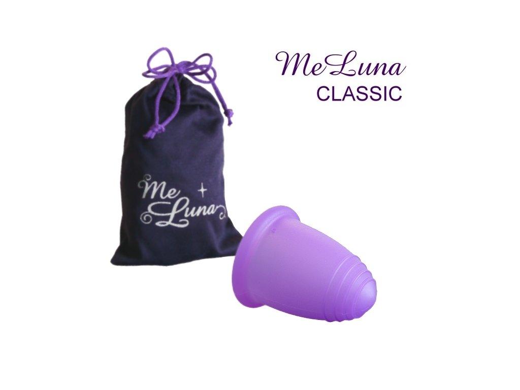 Kubeczek menstruacyjny Me Luna XL basic fioletowy