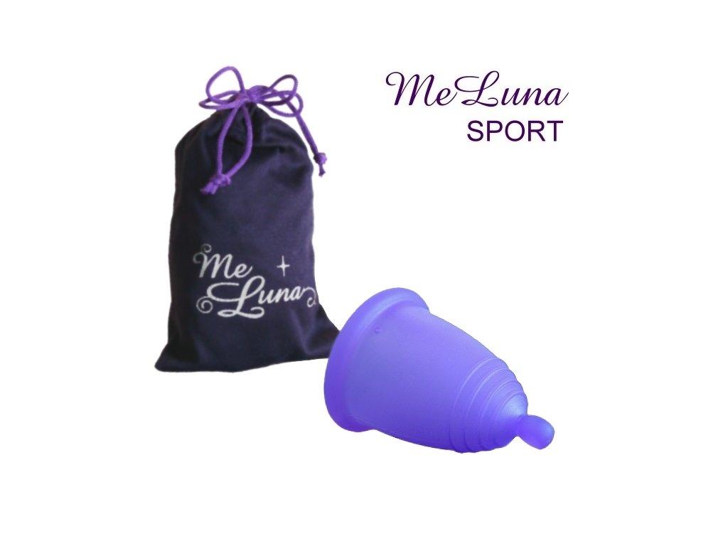 Kubeczek menstruacyjny Me Luna XL fioletowy z kulką