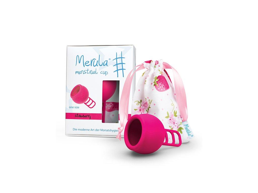 Kubeczek menstruacyjny Merula Cup Strawberry
