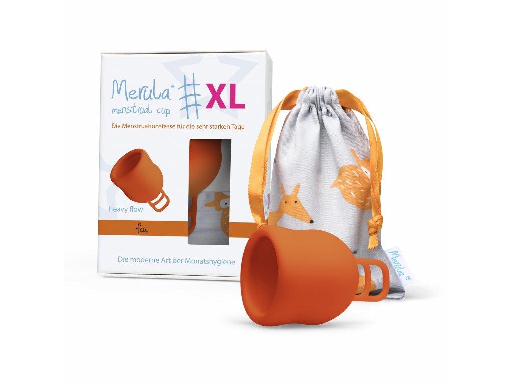 Kubeczek menstruacyjny Merula Cup XL Fox
