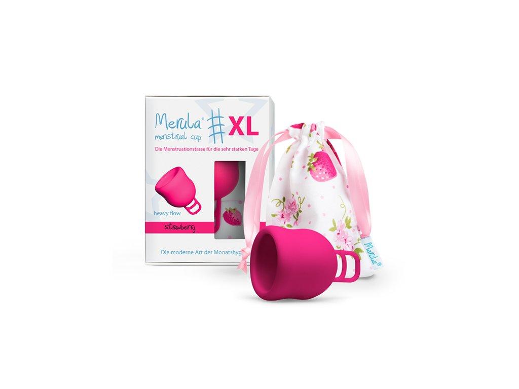 Kubeczek menstruacyjny Merula Cup XL Strawberry