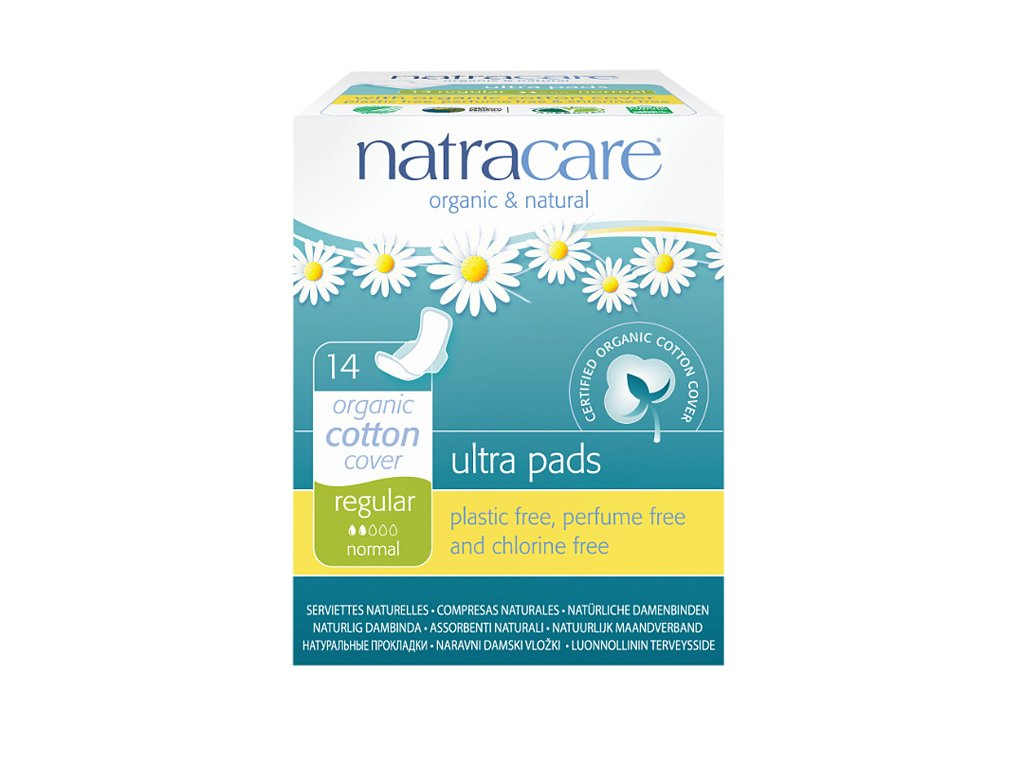 Natracare podpaski dzienne Regular Ultra