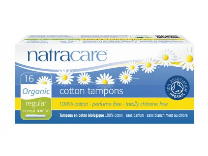 Natracare tampony higieniczne Regular z aplikatorem