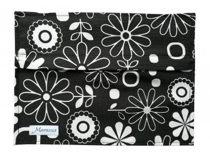 Torebka na podpaski Kwiaty białe