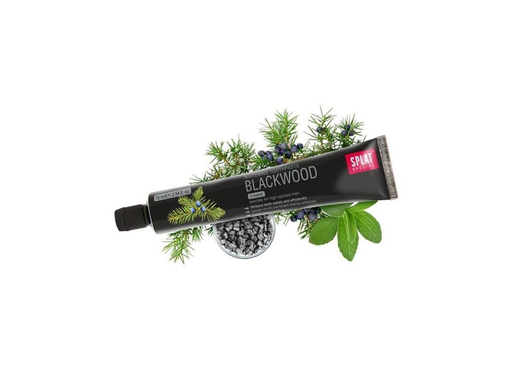 344 belici zubni pasta splat blackwood s aktivnim uhlim a jalovcem