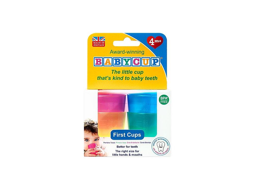 Sada dětských kelímků pro zdravé zoubky Babycup