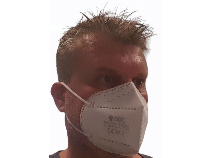 Respirátor KN95 FFP2 s 95% účinností
