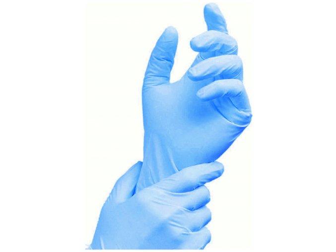 Nitrilové vyšetrovací bezpudrové rukavice