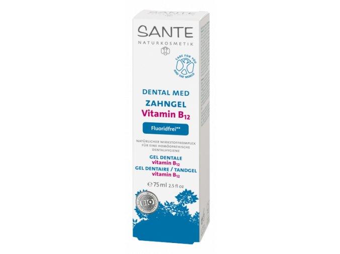 Zubní krém Santé s vitamínem B12 bez fluoridů