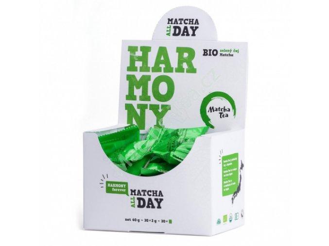 Originální japonský zelený čaj Matcha Bio Harmony