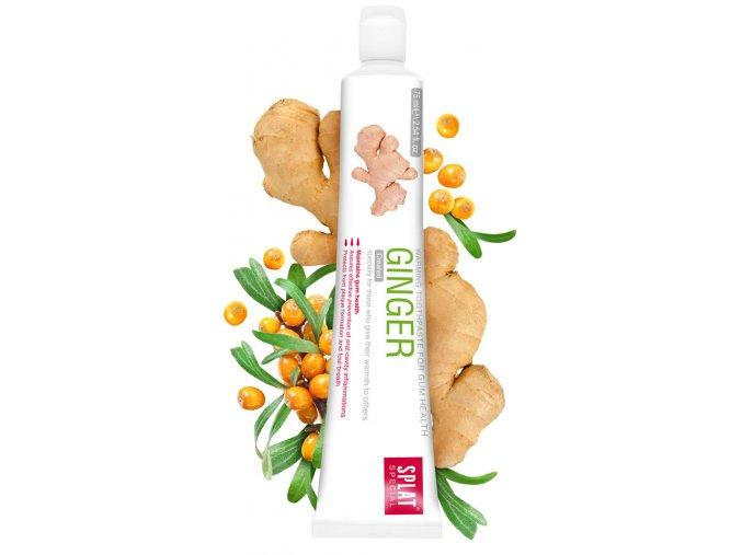 Bělící přírodní zubní pasta Splat Ginger s extraktem zázvoru