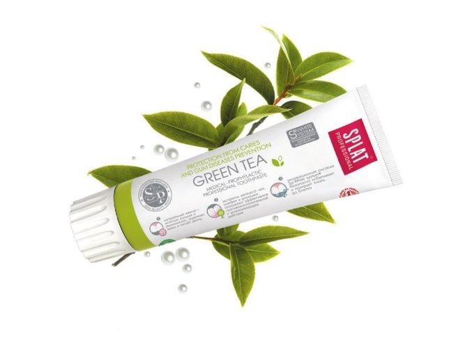 Zubní pasta Green Tea bez fluoridů