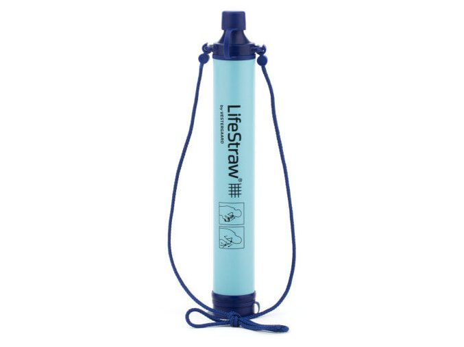 Vodní filtr LifeStraw Personal pro cestovatele