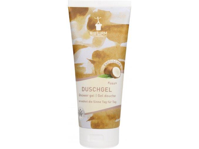 Přírodní sprchový gel Bioturm Kokos