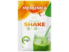 Energetický nápoj Bio Matcha Shake meruňka