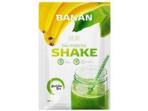 Energetický nápoj Bio Matcha Shake banán