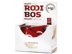 Organický mletý čaj Kyosun Rooibos 60 gramů