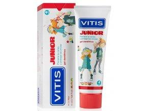 Dětský zubní gel Vitis Junior s příchutí Tutti Frutti