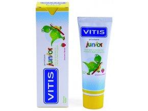 Dětský bezlepkový zubní gel Vitis Junior 75 ml.