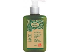 Maska Bio Rehab s aktivátorem růstu vlasů s extraktem zázvoru