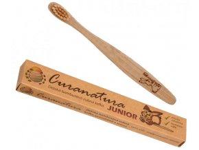 Bambusový dětský kartáček Curanatura Junior