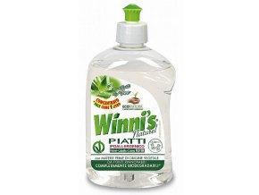 Hypoalergenní prostředek na mytí nádobí Econatura s aloe vera 500 ml.