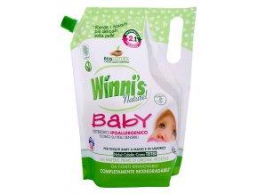 Prací gel s aviváží Winies Natura na dětské prádlo