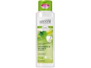 Šampon na normální a mastné vlasy Lavera Balance 250 ml.
