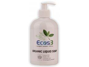 Organické tekuté mýdlo Ecos 3 na ruce 500 ml.