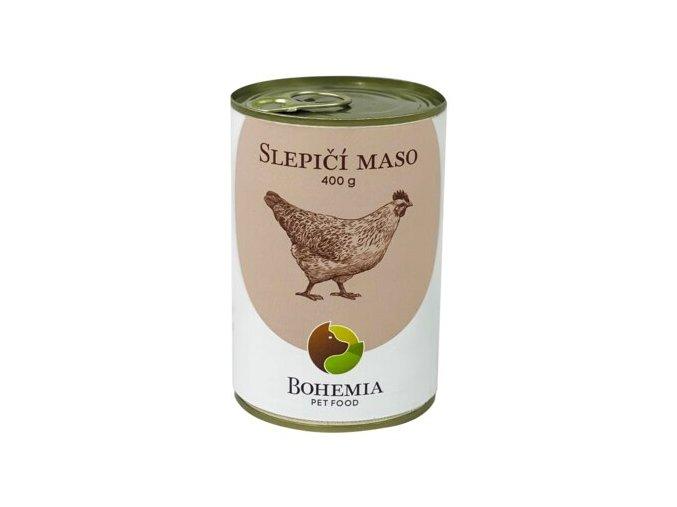 slepičí maso bohemia pet food ecopets 400