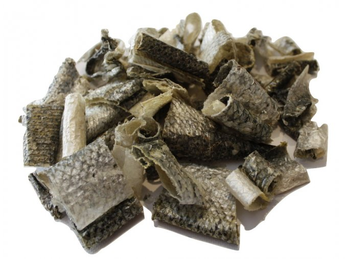 Lososová sušená káže, kousky, natureca ecopets