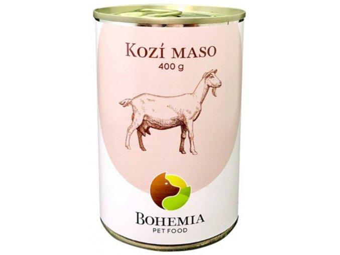 bohemia pet food konzerva kozi maso
