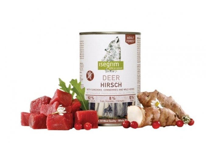 Isegrim FOREST - Jelen s topinambury, brusinkami a divokými bylinkami