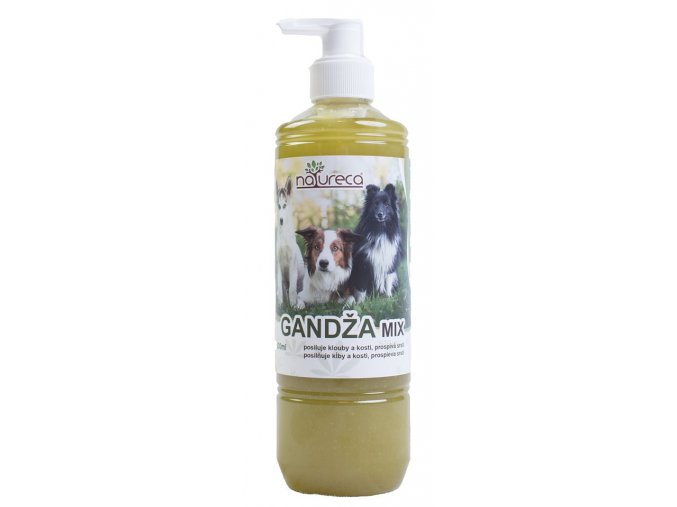 GANDZA mix olej natureca ecopets