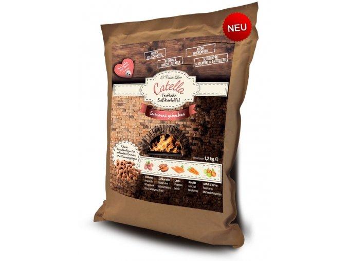 ocanis catella premium line kruta se sladkymi bramborami 1,2 kg