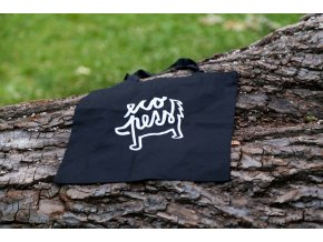 Eko taška, zero waste taška černá