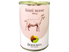bohemia pet food konzerva kozi maso