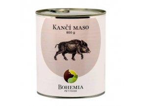 konzerva bohemia pet food_kanci maso 800g