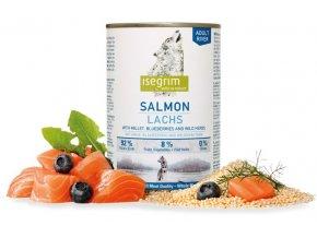 isegrim wet adult river salmon losos