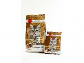 Kočka Krůta a křepelka granule oćanis