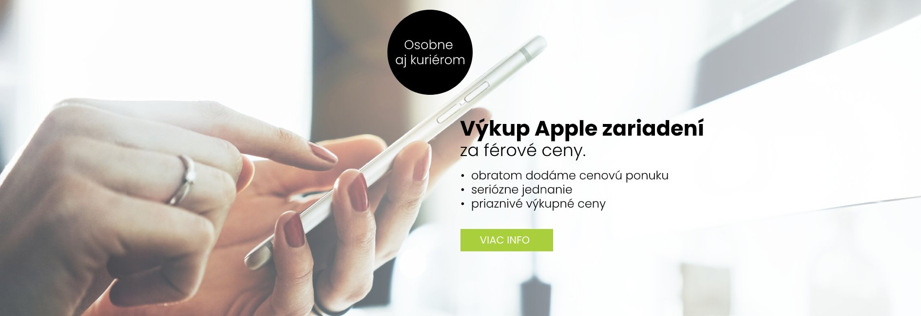 Výkup mobilov značky Apple