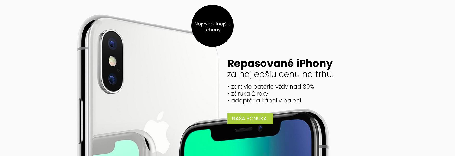 Repasované telefóny Apple iPhone