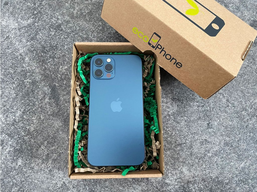 iPhone 12 pro 128gb Pacific Blue - Repasovaný - Záruka 24 mesiacov