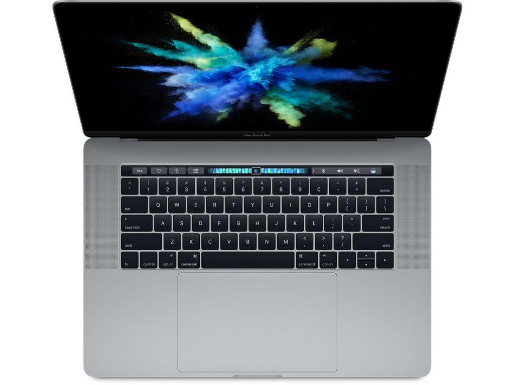 "MacBook Pro 15"" 2016 Retina, Touchbar, 2,6Ghz i7, 16Gb RAM, 256GB SSD, Intel HD Graphics 530, Space Grey - Trieda A"