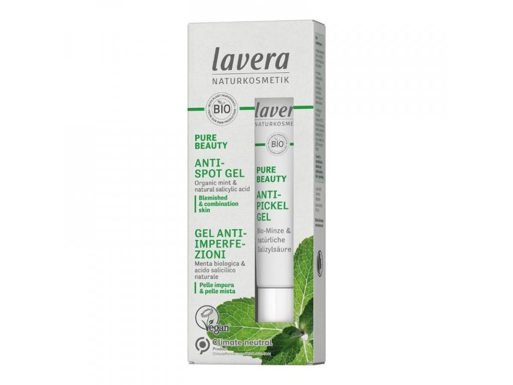 640AA68B C4A2 41A8 93AA 451C70230066 lavera pure beauty gel na akne 15 ml